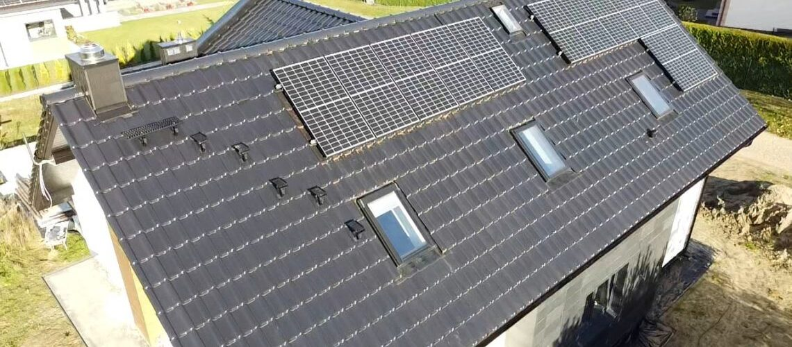 Panele solarne wBieruniu - generator PV 4,4 kW