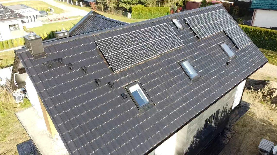 Panele solarne w Bieruniu - generator PV 4,4 kW