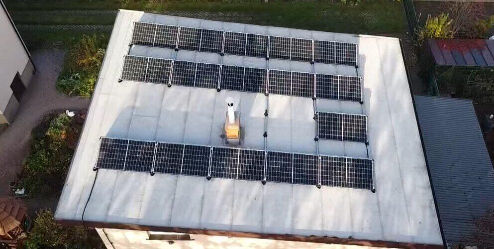Panele słoneczne wBieruniu generator PV 5,9 kWp