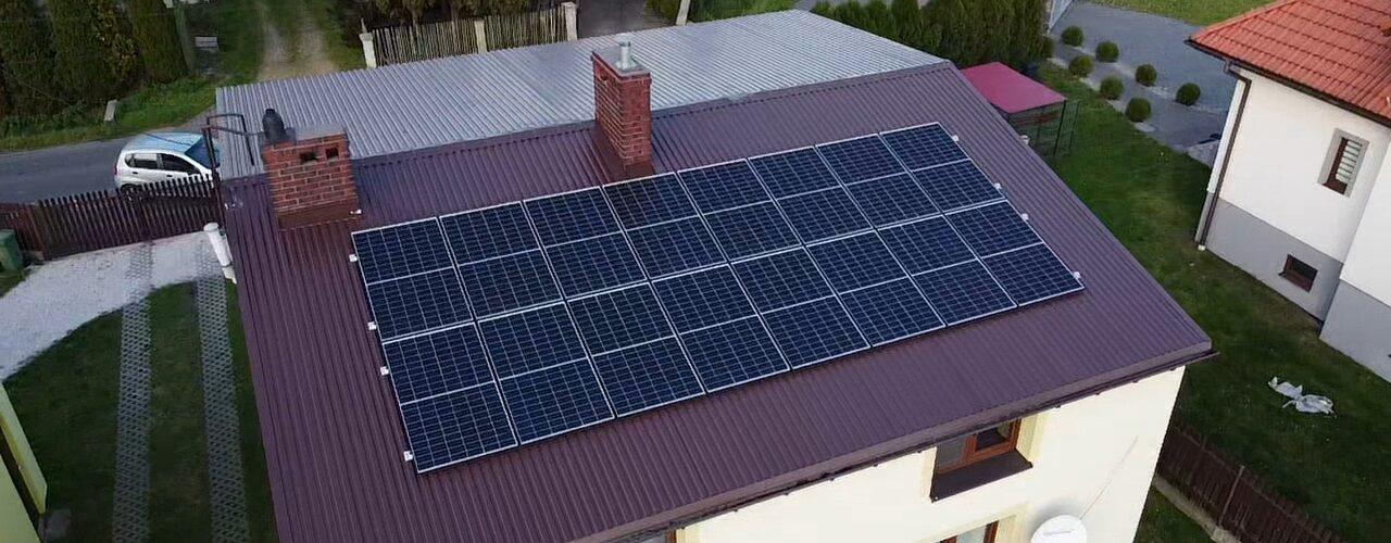 Panele solarne wBieruniu PV 5,4 kW